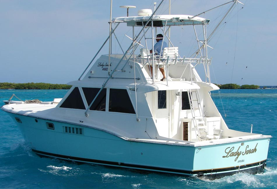 40FT HATTERAS LADY SARAH